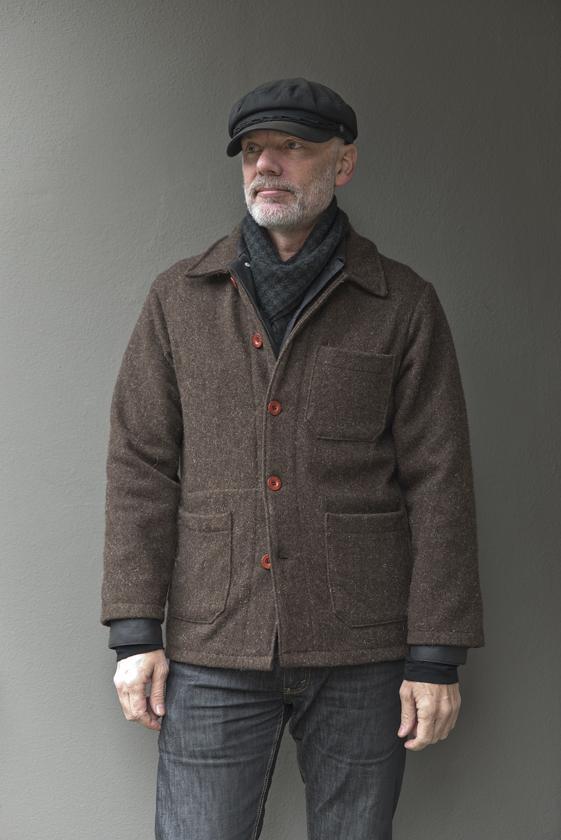 Jaqueta de Lã Le Laboureur