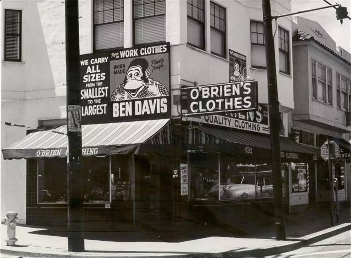 Loja antiga da Ben Davis