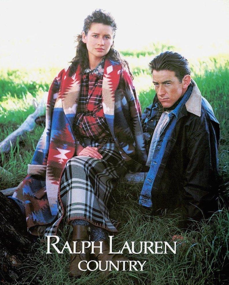 Coleção Ralph Lauren Country