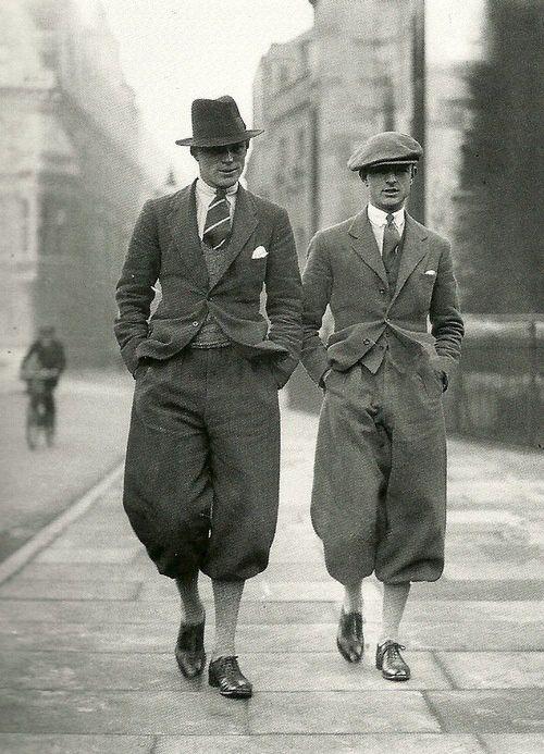 Boinas masculinas na década de 1920