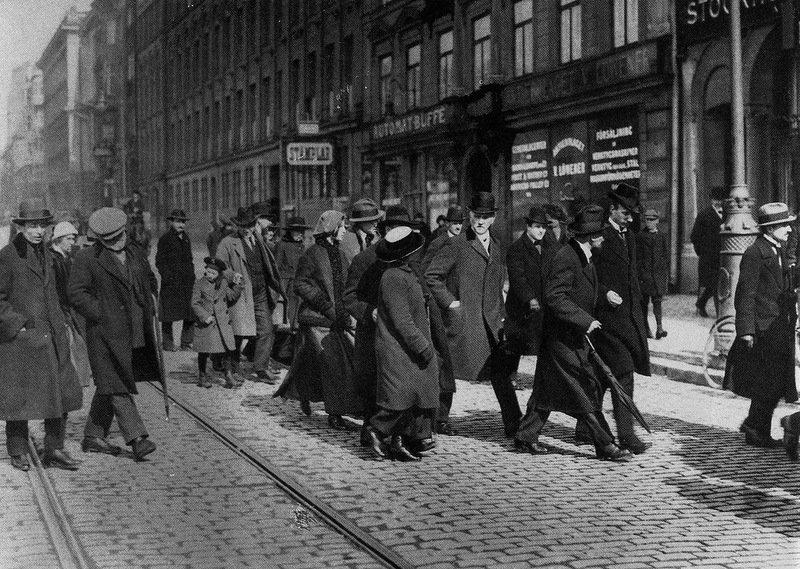 Lenin de Boina em Estocolmo