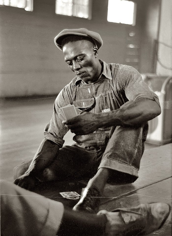Foto de 1938, por Dorothea Lange