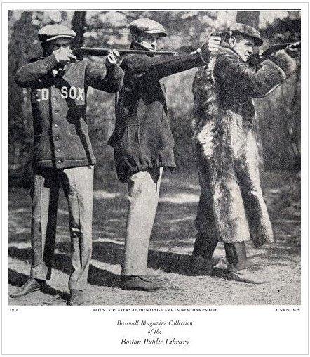 Jogadores do Boston Red Sox em 1916