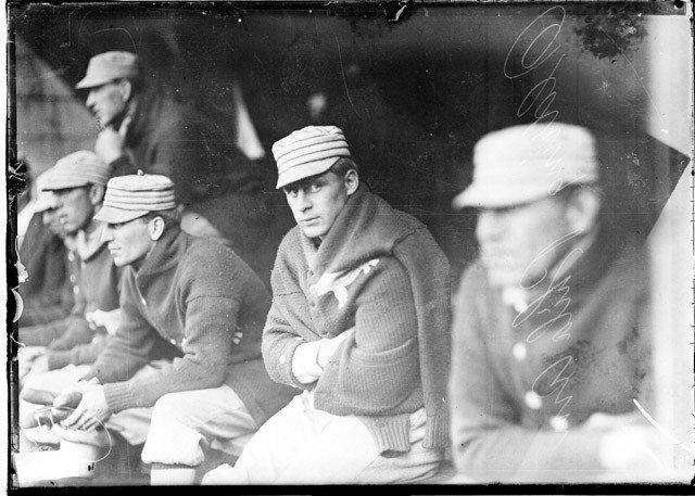 Banco de reservas na final da World Series em 1911