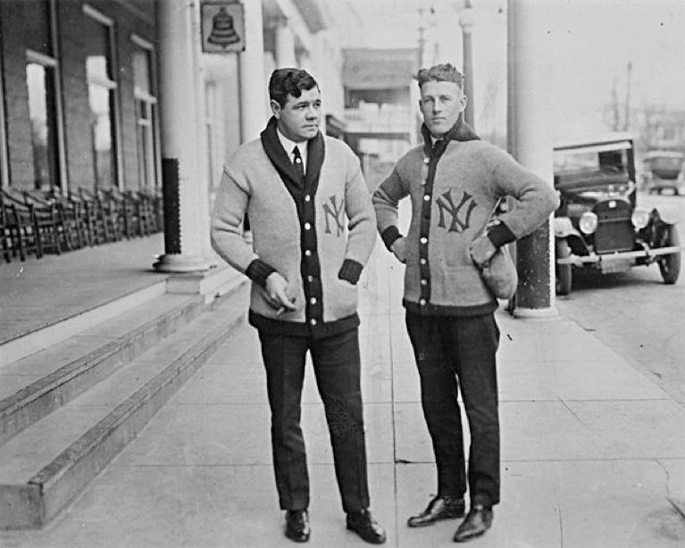 Babe Ruth e Lou Gehrig