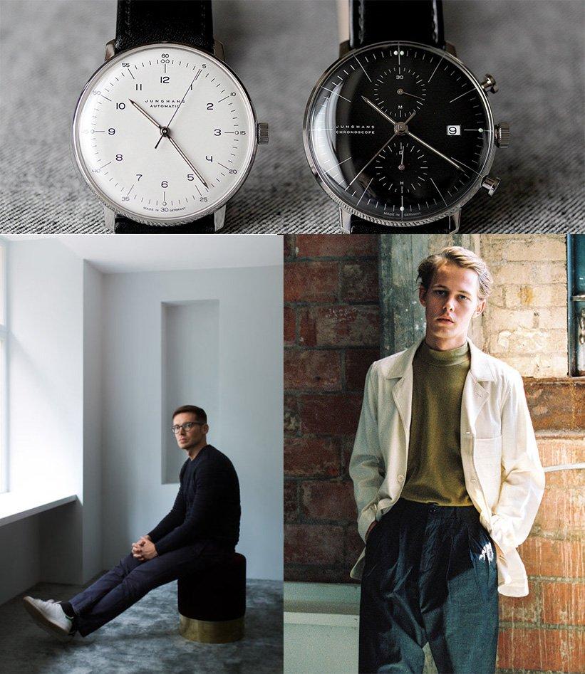 relógio masculino minimalista