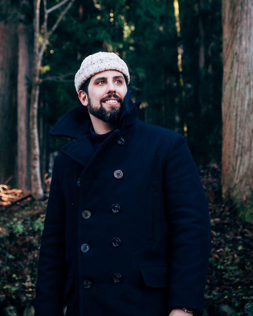 casaco peacoat masculino