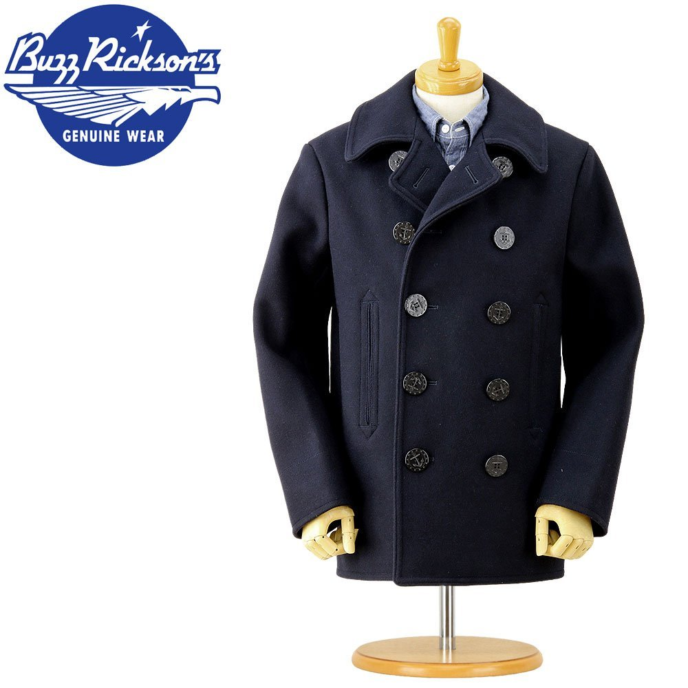 pea coat masculino buzz ricks