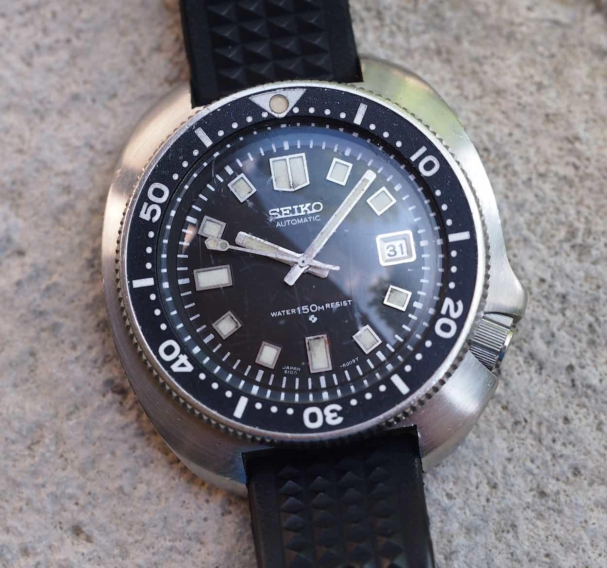 relógio Apocalypse Now Seiko 6105