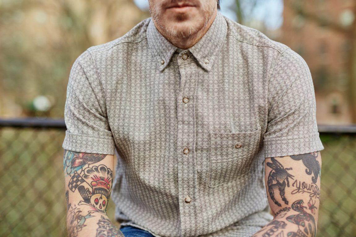 camisas masculinas de verão