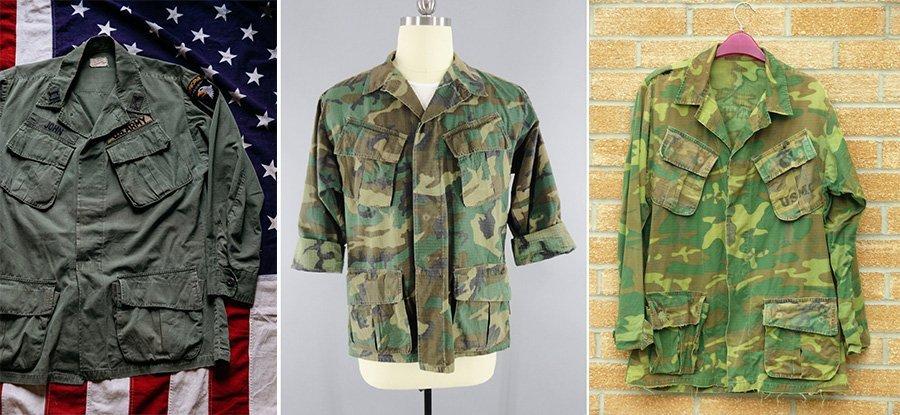 jaquetas americanas exército vietnã