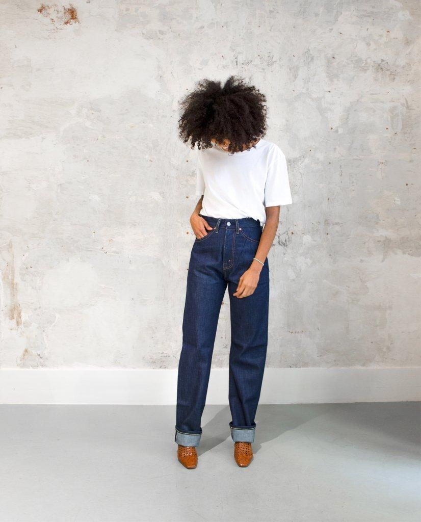 Calça Levi's Vintage Clothing Selvedge feminina