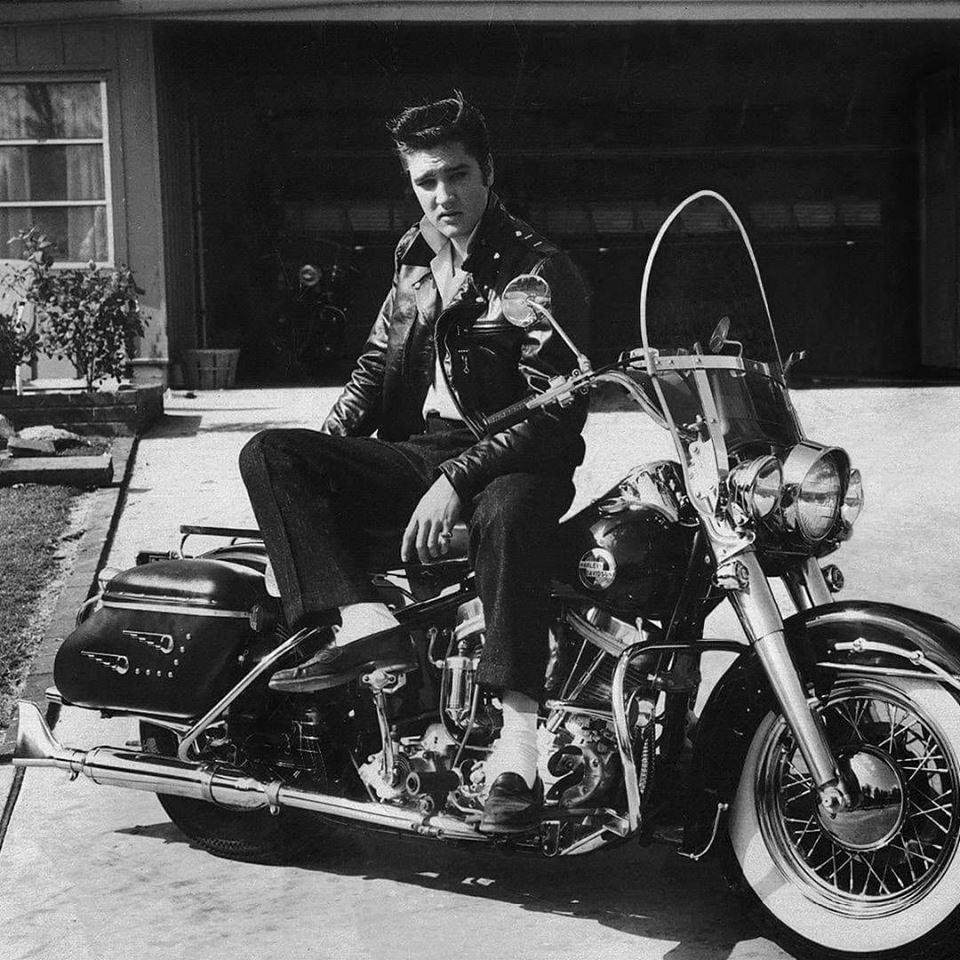 Elvis Presley Harley Davidson