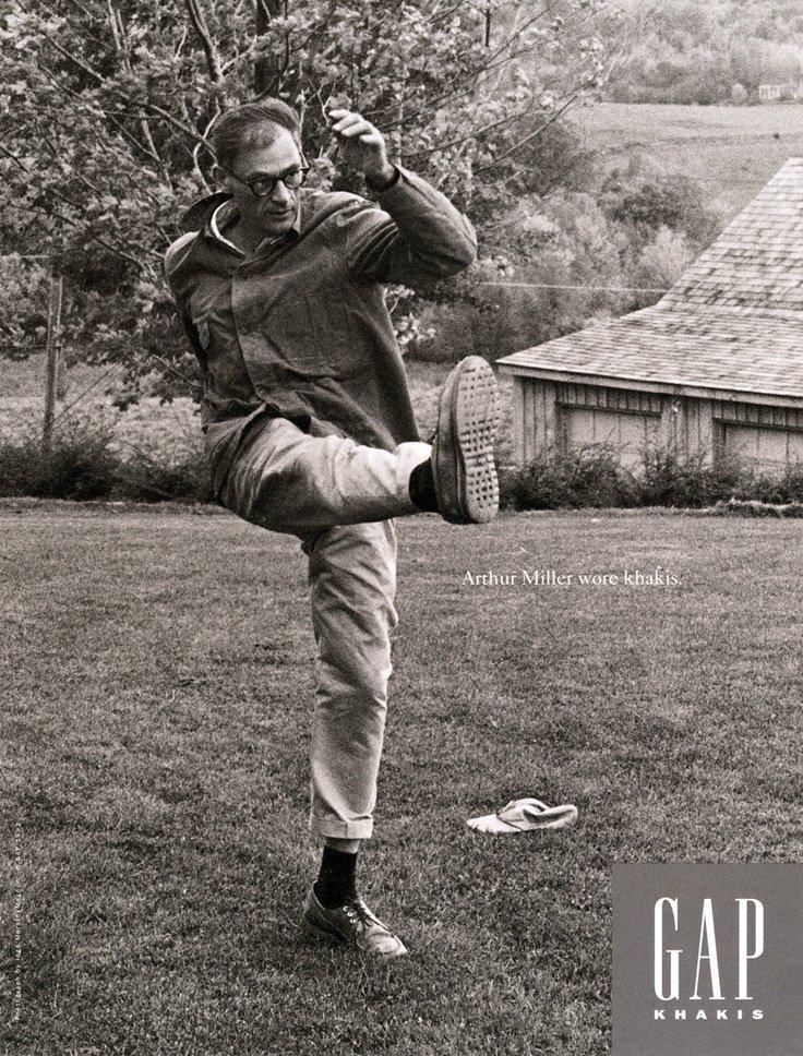 Arthur Miller calça chino