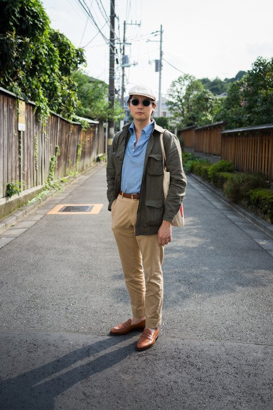 calça chino social