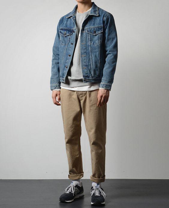 Como usar calça chino casual