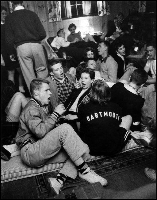 Calça chino nos anos 50