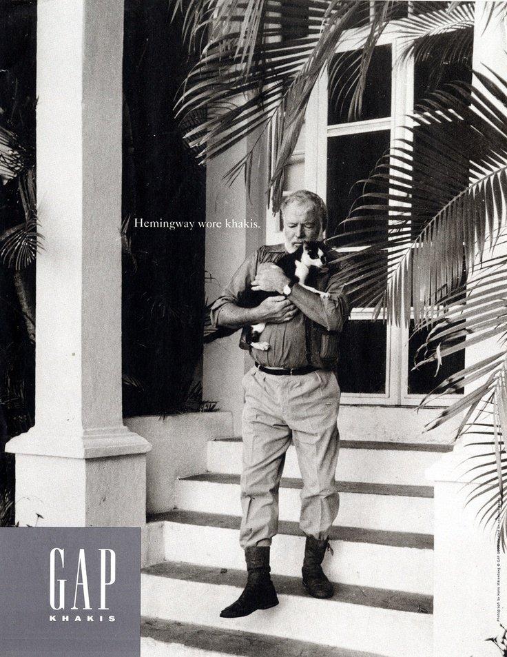 Hemingway calça chino