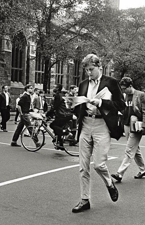 Estudante universitário da década de 1950