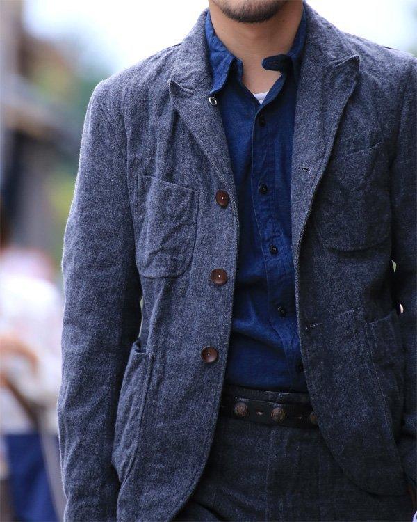 Blazer casual de tweed
