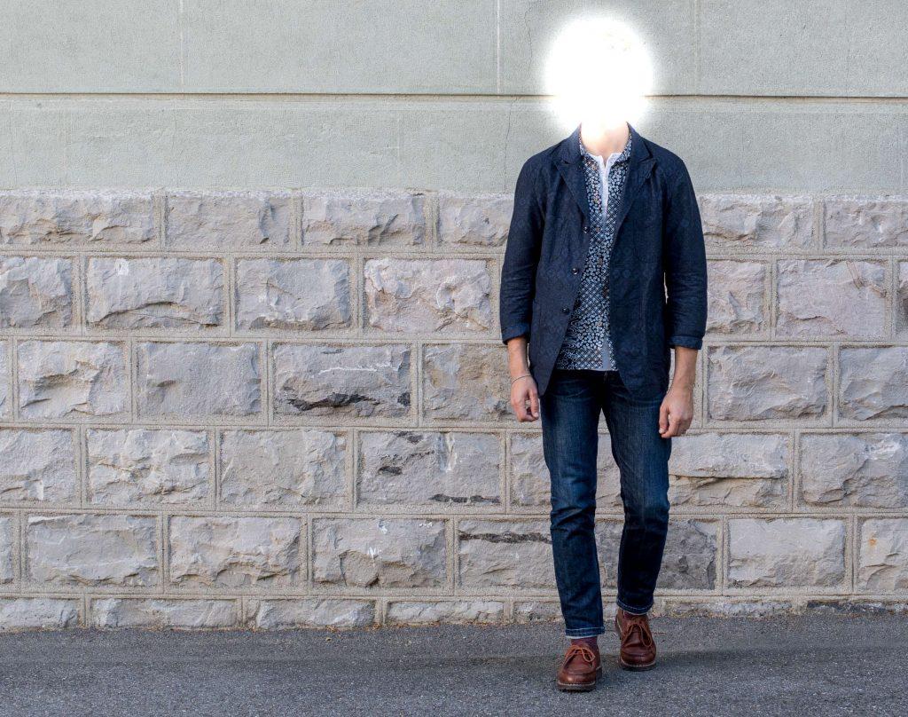 Como usar paletó com calça jeans