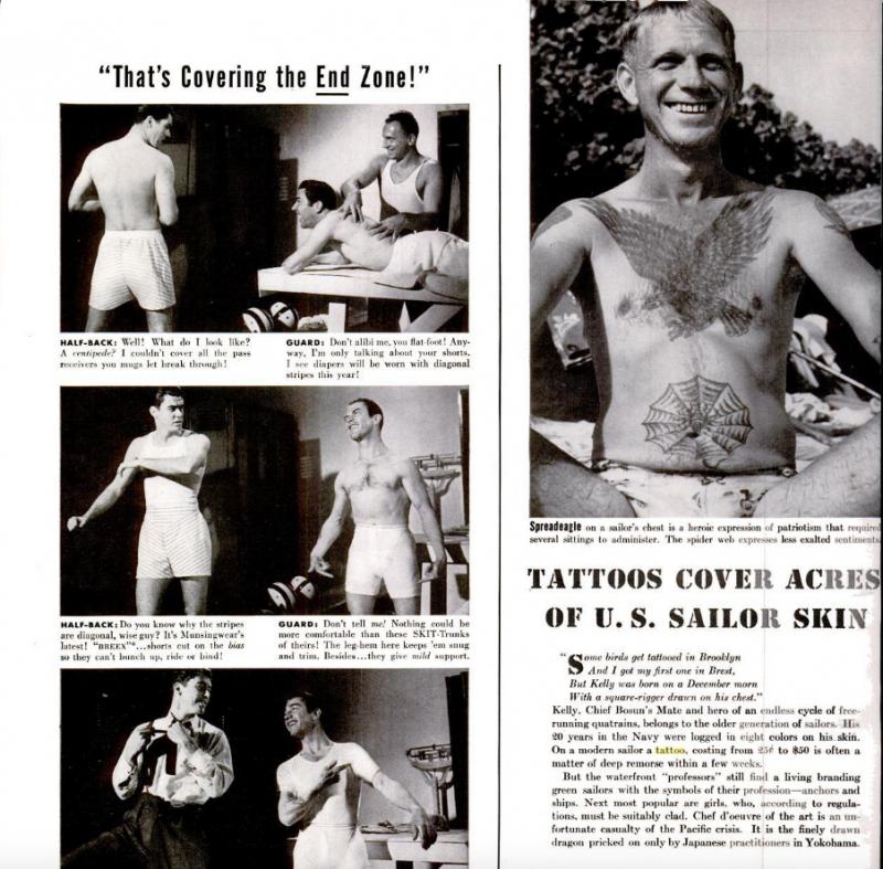 Tatuagem de marinheiro da marinha norte americana