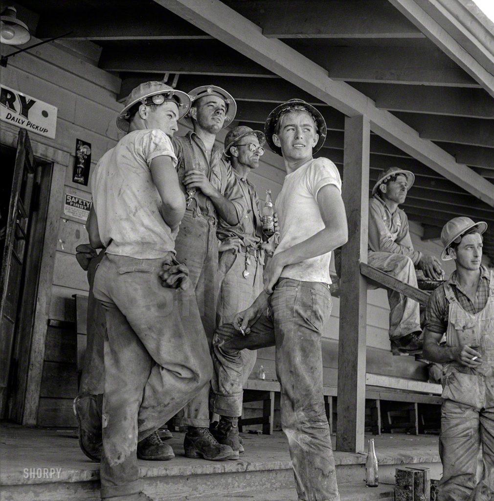 Trabalhadores Califórnia 1942