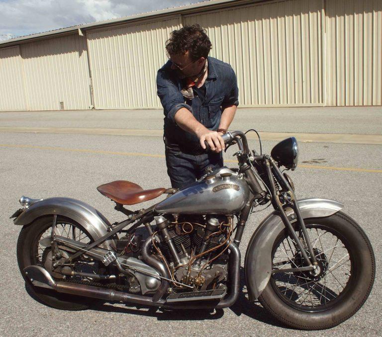 Crocker Motorcycle nova