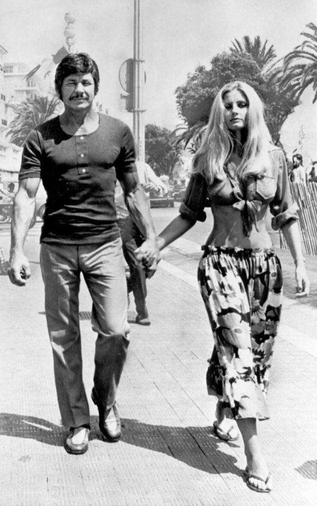 Charles Bronson e Jill Ireland, 1971