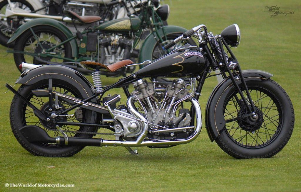Crocker Motorcycle Big Tank 1934