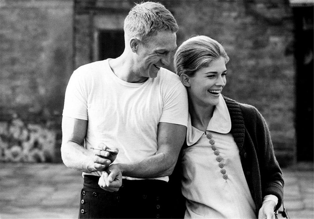 Candice Bergen e Steve McQueen