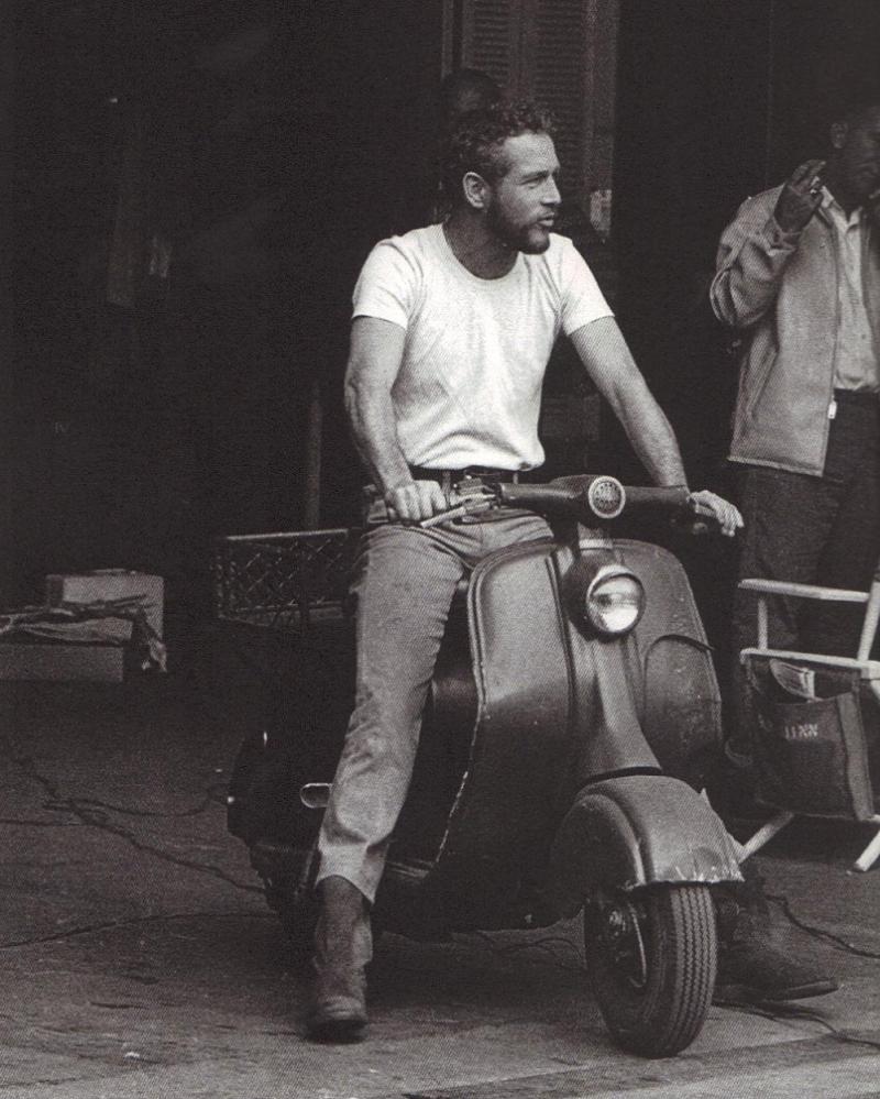 Paul Newman Lambreta