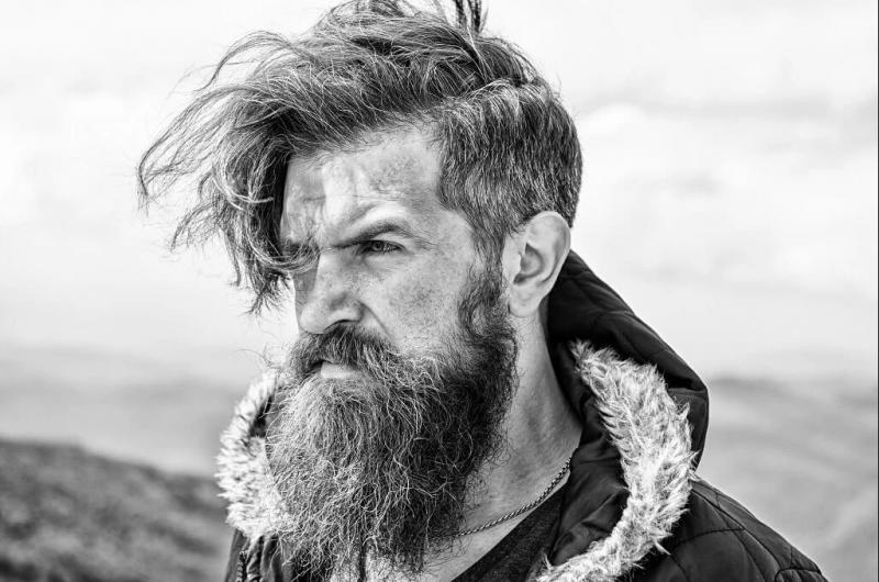 como secar a barba