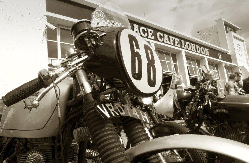 Ace Café em Londres
