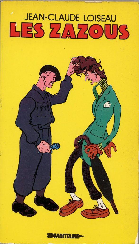 Les Zazous ilustração governo Vichy