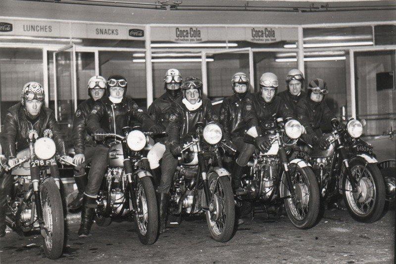 Cafe Racers em Londres nos anos 1960