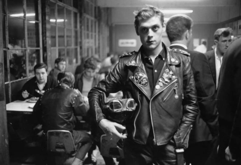 Rocker Londres década de 1960